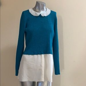 Elle Size Large Blue Shimmer New With Tags